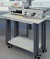 Ausbildungs-Mobil mit Alu-Profilplatte