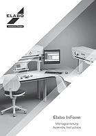 Montageanleitung ELABO InForm Tische und Aufbauten