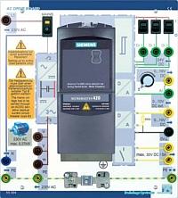 Frequenzumrichter Micromaster 420 auf AC-Drive-Board 55004