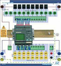 PLC Board 40017 mit LOGO! 230V