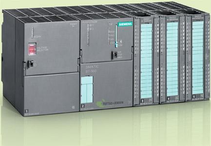 S7-CPU mit Erweiterungsbaugruppen