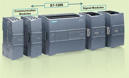 S7-1200 mit Kommunikations- und Signal-Modulen