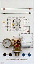 Einzelplatte mit Elektromotorischem Stellantrieb