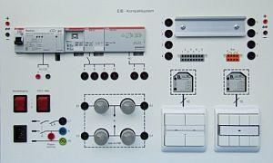 Einfache Kompaktplatte KNX/EIB